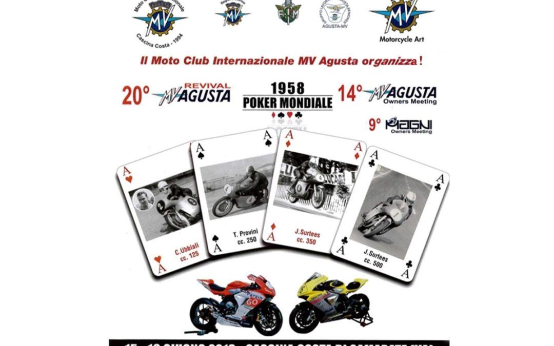 Con la sponsorizzazione di Aviometal il 20° Revival MV Agusta!